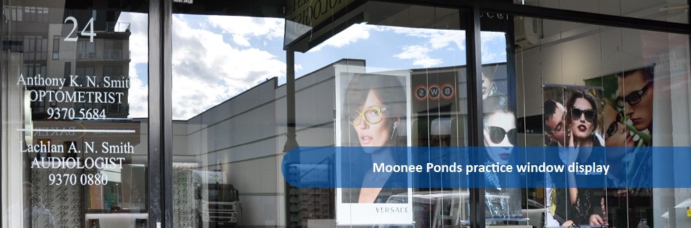 Moonee Ponds Practice window display